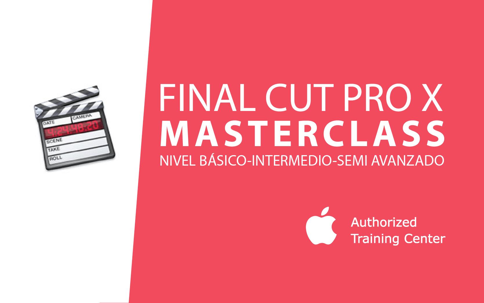 Apple Final Cut Pro 10 (Nivel 1)